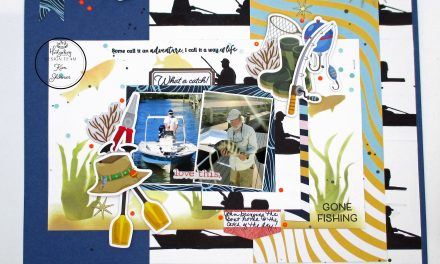 Stamping On Your Scrapbook Layouts