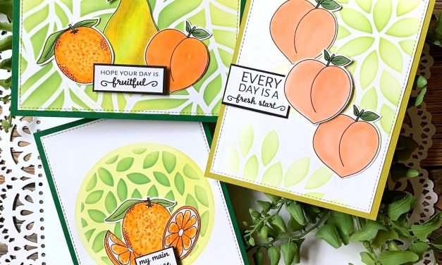 Fruity set of cards!