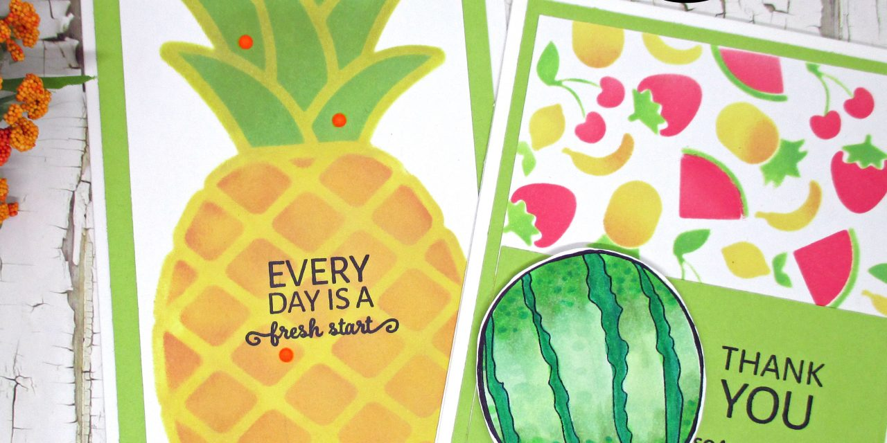 Create Quick and Easy Cards With Layering Stencils