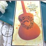 Easy Stencil and Mixed Media Details for quick cards