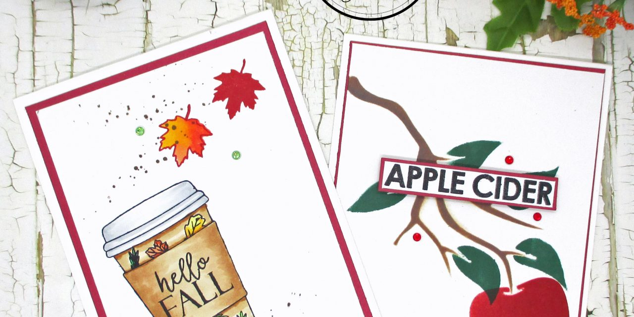 2 Quick Fall Cards You can make in minutes!