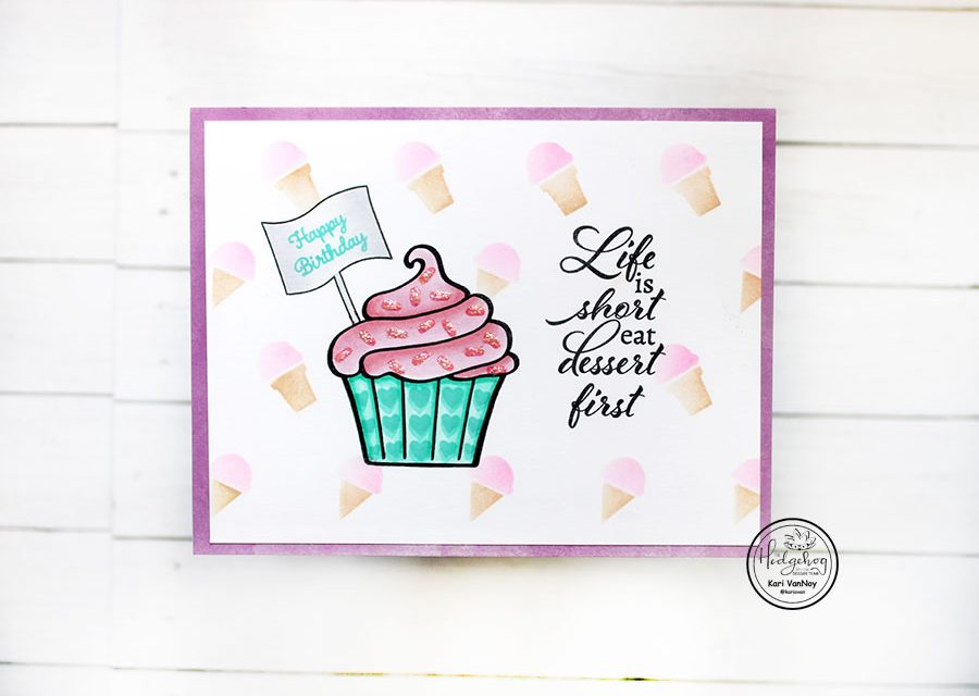 Cupcakes and ice cream (with video)